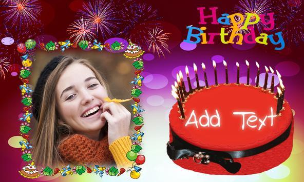 Birthday Frame Happy Birthday photo Frames screenshot 10