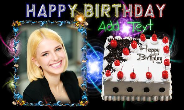 Birthday Frame Happy Birthday photo Frames screenshot 2