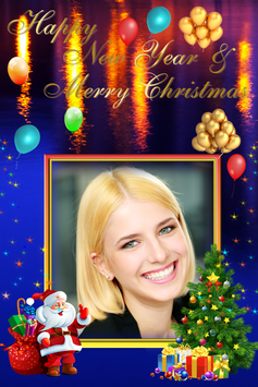 Christmas New Year 2018 Photo Frame screenshot 7