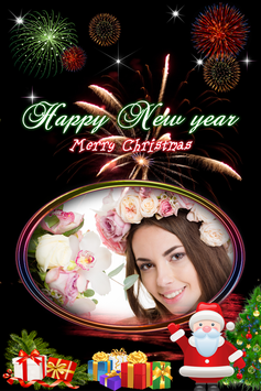 Christmas New Year 2018 Photo Frame screenshot 9