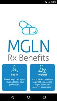 MGLN Rx Benefits poster