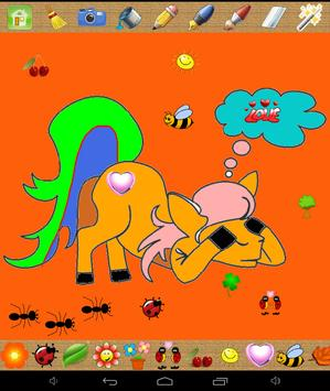 Kids coloring pages fun apk screenshot