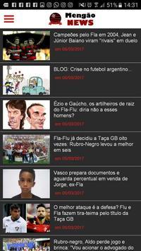 Mengão News apk screenshot