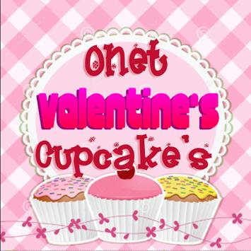 ONET VALENTINE CUPCAKE'S CONNECT poster