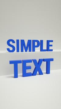 AR Stickers: Text poster