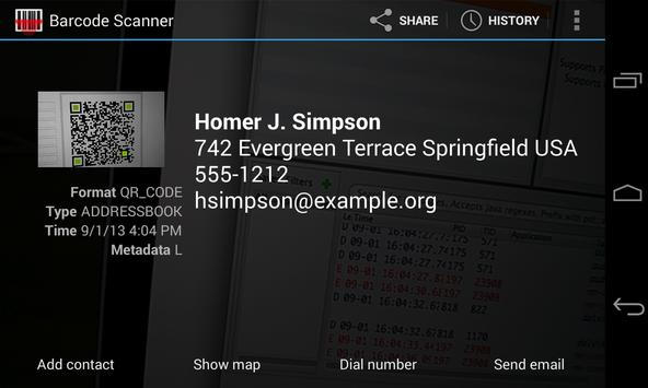 Barcode Scanner 4 2 Screenshots 7