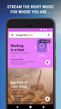Google Play Music الملصق