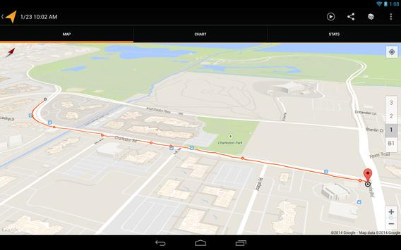 My Tracks apk screenshot