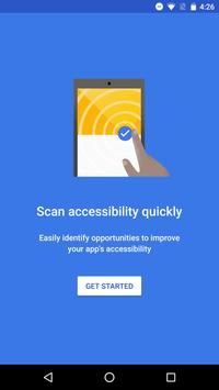 Accessibility Scanner poster