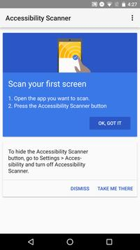 Accessibility Scanner screenshot 2