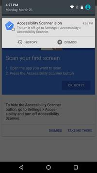 Accessibility Scanner screenshot 3