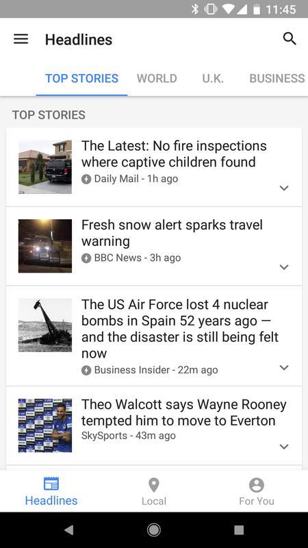 Google News Wetter Für Android Apk Herunterladen