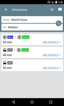 Delhi Public Transport Offline screenshot 1