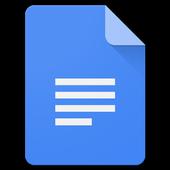 Documentos de Google icono