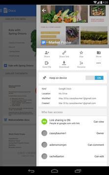 Documentos Google apk imagem de tela