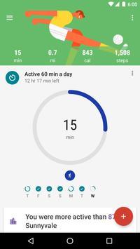 Google Fit - 追蹤體能狀態 海報