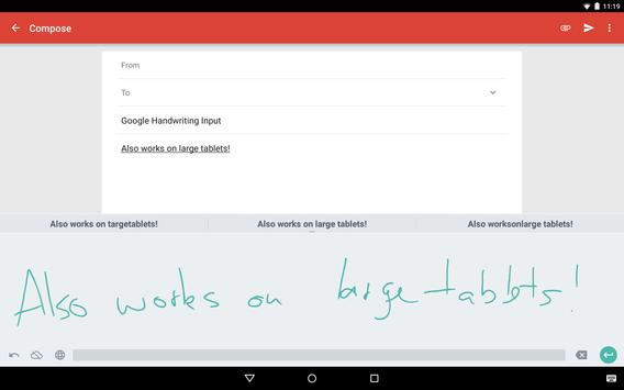 Google Handwriting Input screenshot 6
