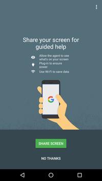 Google 支持服务 海报