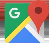 Maps: GPS e transporte público ícone
