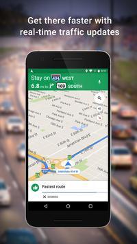 Maps: GPS e transporte público Cartaz