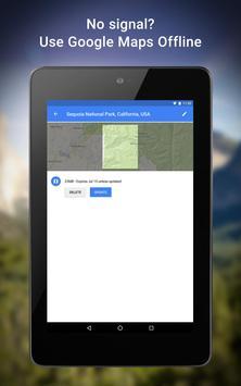 خرائط تصوير الشاشة 21