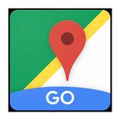 Google Maps Go: rotas e transporte público ícone
