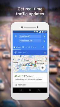 Google Maps Go: rotas e transporte público imagem de tela 1
