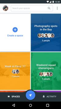 Spaces - Find & Do with Google poster