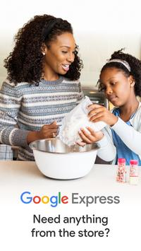 Google Express - Shopping done fast poster