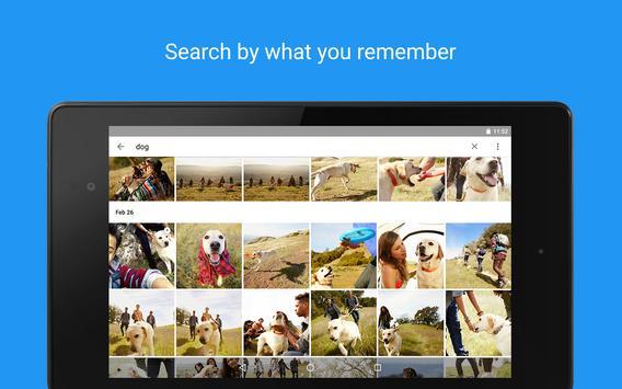 Google Foto's APK-screenhot