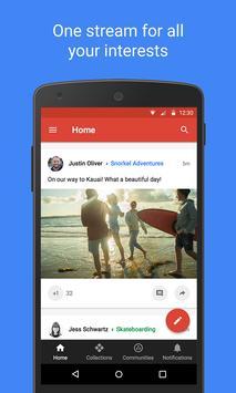 Google+ poster