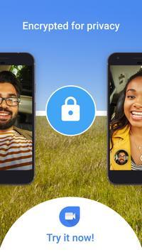 Google Duo: Videoanrufe in hoher Qualität APK-Bildschirmaufnahme