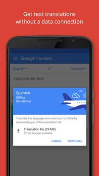 Google Translate apk screenshot