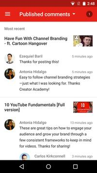 YouTube Studio screenshot 5