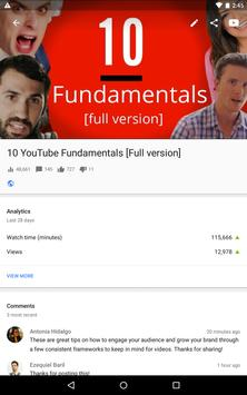 YouTube Studio apk screenshot
