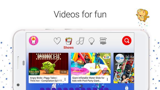 YouTube Kids apk imagem de tela
