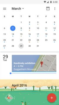 Google Calendar apk screenshot