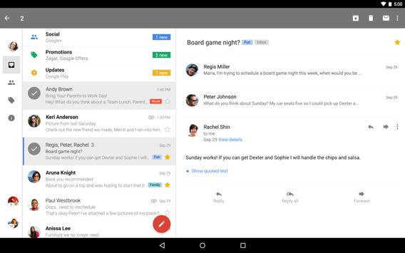 Gmail apk screenshot