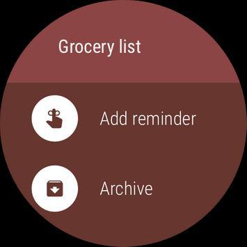 Google Keep apk screenshot