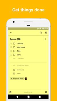 Google Keep apk screenshot