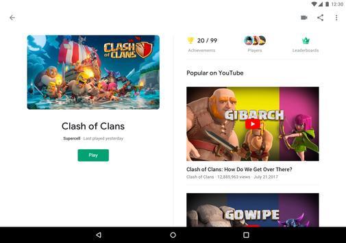 Google Play Games apk screenshot