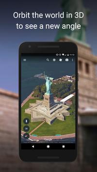 Google Earth poster