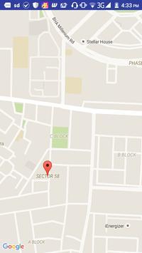 Map Location apk screenshot