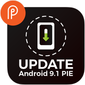 Update for Android (info) - Software up to date icon