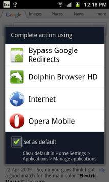 Bypass Google Redirects تصوير الشاشة 1