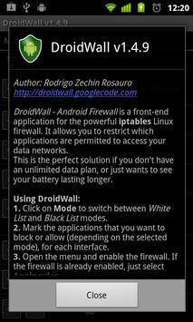 DroidWall screenshot 1