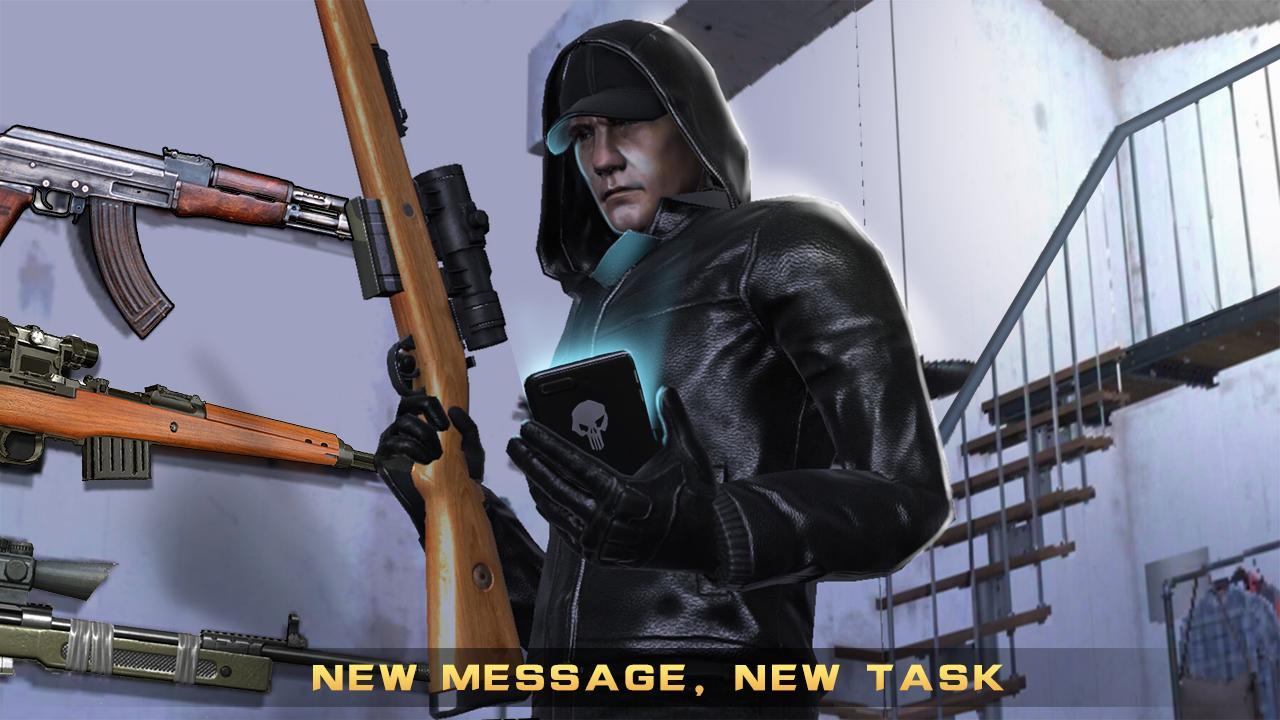 Apk share: android games sniper killer 3d ⅱ download.