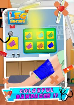 Leg Surgery Doctor apk screenshot