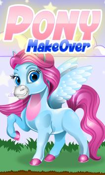 Little Pony Makeover poster