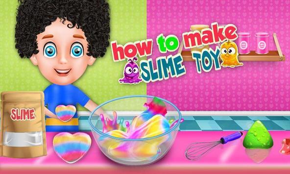 How To Make Slime Toy: Glowing DIY Maker Games screenshot 4